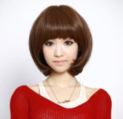 New Women 2013 Girls Short Fashion Straight Hair Wig Sexy Brown Colour Cosplay
