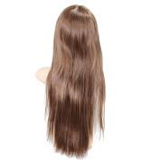 RHX New Arrival Stunning Straight Long Hair Full Wig Women Hairpiece Light Brown Hot