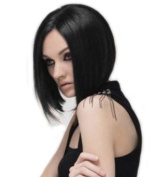 Sexy Girl's/womens Black BOB Short Straight Wig
