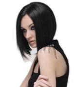 Sexy Girl's/womens Black BOB Short Straight Wig