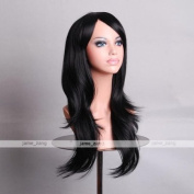 Outop 70cm Women's Hair Wig New Fashion Long Big Wavy Hair Heat Resistant Wig for Cosplay Party Costume