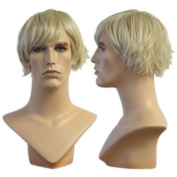 Blond Wedge Cut Richard Wig