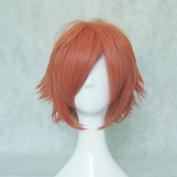 Mordor Oran High School Host Club Kaoru/hikaru Hitachiin Short Orange Cosplay Wig MJ