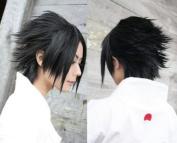 Naruto Sasuke / Durarara Izaya Orihara Cosplay Wig Black