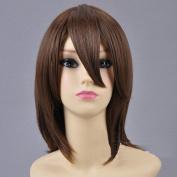 Hirasawa Yui Suzumiya Haruhi Short Brown Hair Cosplay Wig