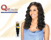 MilkyWay Que INVISIBLE PART WEAVING CLOSURE Human Hair MasterMix - LOOSE DEEP 12''