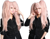Anangelhair +Free Hair Cap Danganronpa Junko Enoshima Party Hair Cos Cosplay Wig Hallowmas