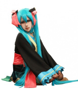 Anangelhair +Free Hair Cap 48inch 120 Cm Vocaloid Hatsune Miku Anime Cosplay Wig
