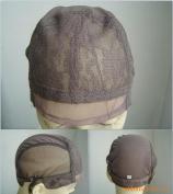 Medium Black No Part Weaving Net. Durable Stretchy Material. Upart. U-part. U part. Weaving Net. Weaving Cap. Wig Cap.