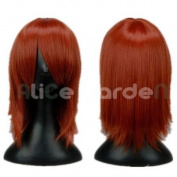BASARA Red Brown Short Costume Wig Costume Wigs