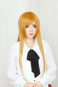 Asuna Yuuki Asuna Gold Long Straight Hair Cosplay Wig