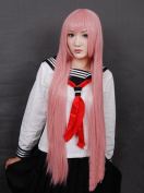 The Tour Sound Luka Maria Pink 100Cm Long Straight Hair Cosplay Wig