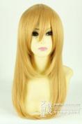 Attack on Titan Krista Lenz Medium hair Anime Party cosplay wig+ Free Wig Cap