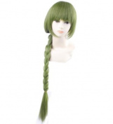 FENGSHANG Kuroko's Basktball Midorima Shintaro Long Cosplay Wigs 100cm Green
