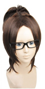 Anangelhair +Free Hair Cap Japanese Anime Attack on Titan Hanji Zoe Cosplay Wig