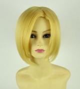 Attack ON Titan Annie Leonheart Short Golden Cosplay Wig