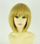 Attack on Titan Armin Arlert 35cm short hair Anime Party cosplay wig+ Free Wig Cap