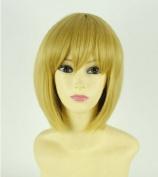 Attack on Titan Armin Arlert 35cm short hair Anime Party cosplay wig+ Free Wig Cap