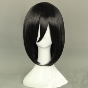 Mordor HOT Sell!Attack on Titan Mikasa Ackerman black short hair cosplay wig MH