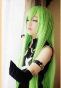 E-busienss Code Geass Cc 943 Long Green Cape Cosplay Wig Cos Anime Wig.