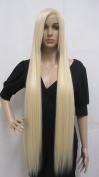 E-busienss Cosplay Gold Wig Code Geass Christmas Halloween Party Wigs Woman Long Straight Hair