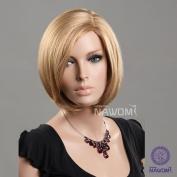 New Cute Fashion Womens & girls Bobo Short Straight Blonde Hair Japan Kanekalon Wigs