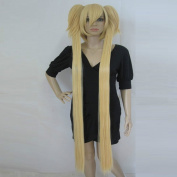 Long Golden Shugo Chara Tsukiyomi Hoshina Utau Anime Cosplay Party Hair Full wig