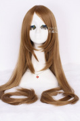 150cm Extra Super Long Light Brown Straight Cosplay Party Women Fashion Wig