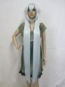 Cf-fashion Alice Cosplay Wigs Pandora 1.3 M Kuroshitsuji Undertaker Woman White Long Party Cos Wig