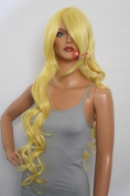 Epic Cosplay Hera Rich Butterscotch Blonde Curly Wig 100cm