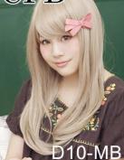 Maya Light Blonde Long Wigs D10-MB