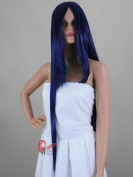 Epic Cosplay Athena Fusion Blue Extra Long Bang Straight Anime Wig 100cm