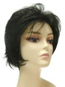 Tressecret Number 450 Wig, Black 1B, 1 3/4 to 10cm