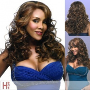 Vivica A Fox Hair Collection Lavender-V Deep Lace Front New Futura Synthetic Fibre Wig, 2, 390ml