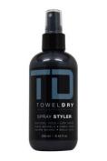 Towel Dry Spray Styler for Men, 250ml