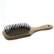Elegant Brushes Superlite Bamboo Paddle Pin Brush, Brown