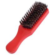 100% Soft Boar Bristles Men's Club Brushes, 4 Ct