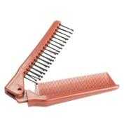 Vktech Pro Salon Anti-Static Pocket Combing Folding Hairdressing Hair Brush Comb