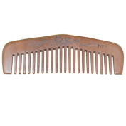 Gift Idea Natural Hande Made Wide Tooth Peach Wood Comb