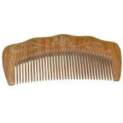Handmade 100% Natural Sandal Wood Wide Tooth Comb,anti Static