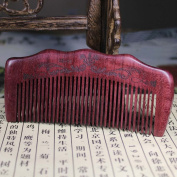 Natural Handmade Purpleheart Wood Comb