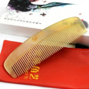 Natural sheep horn many tooth comb 15cm