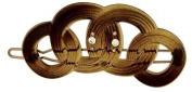 Camila Paris Slide T.Shell, Circles Hair Clip 5.7cm with. Crystals