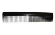 Disposable Plastic 23cm Comb * Black