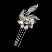 Annabella Antique Rhinestone Flower Comb Wedding Bridal Special Occasion