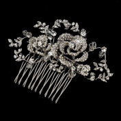 Donna Antique. Crystal Bead & Rhinestone Comb Wedding Bridal Special Occasion