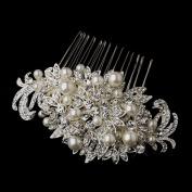 Thale Crystal & Pearl Vintage Bridal Hair Side Wedding Bridal Occasion Comb