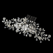 Beira Freshwater Pearl, Crystal & Rhinestone Wedding Bridal Special Occasion Comb