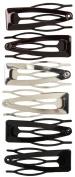 Vidal Sassoon Hair Accessories Clix Contour Clips, 6 ct