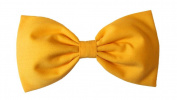 Solid Bright Yellow Hair Bow